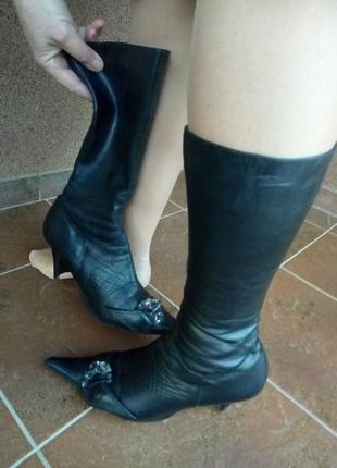 Чобітки, черевички демісезонні, весна/осінь, натуральна шкіра / обмін чи продадж