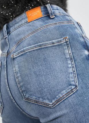 Шикарные джинсы с высокой посадкой от zara, 38р, оригинал, испания7