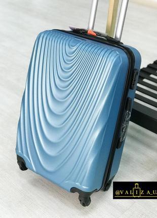 Вау! оригинал польша! чемодан из поликарбоната средний / валіза середня