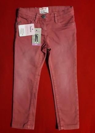 Джинсы скинни штаны с потертостями impidimpi2 фото