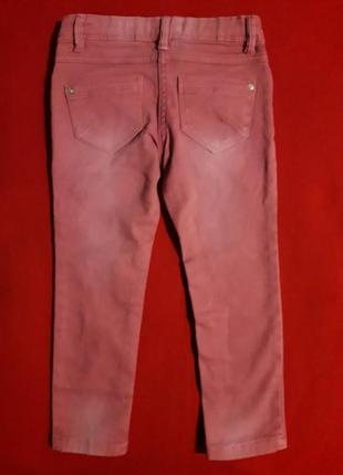 Джинсы скинни штаны с потертостями impidimpi4