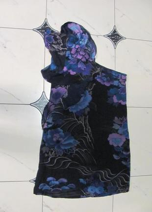 Шикарное платье лето шелк