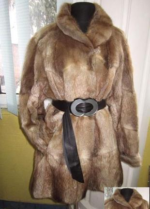 Шикарная женская натуральная норковая шуба stoll hannover. германия. лот 379