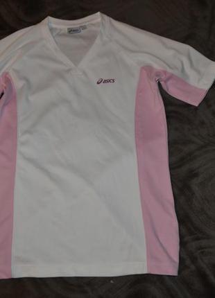 Новая женская тером футболка asics оригинал размер м