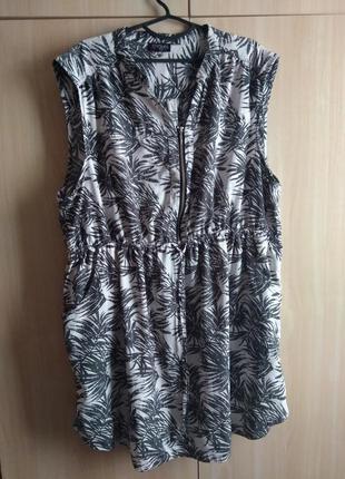 Супер платье туника  на пышные формы пог до 76 см