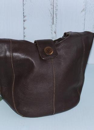 Clarks кожаная вместительная сумка на плечо