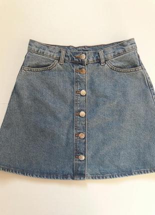 Monki джинсовая юбочка