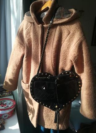 Zara, пальто шерсть