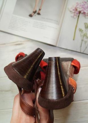 Footglove! замша! красивые босоножки на удобном каблуке2 фото
