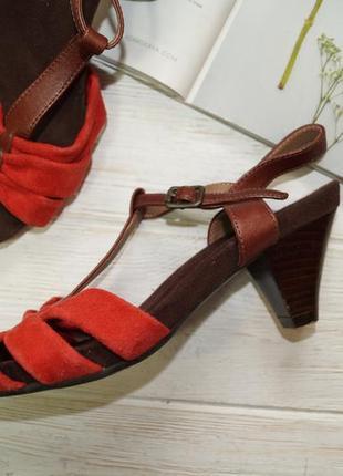 Footglove! замша! красивые босоножки на удобном каблуке4 фото