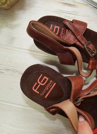 Footglove! замша! красивые босоножки на удобном каблуке5 фото