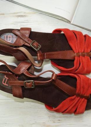 Footglove! замша! красивые босоножки на удобном каблуке6 фото
