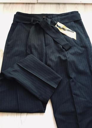 Стильные брюки в полоску в стиле мом 36-42р. турция