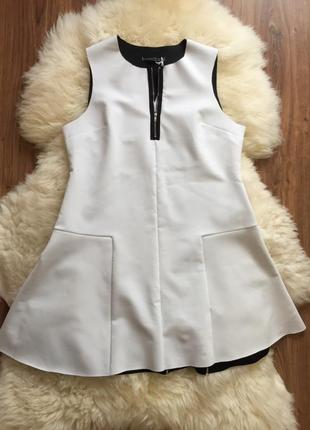 Платье большого размера с плотной ткани