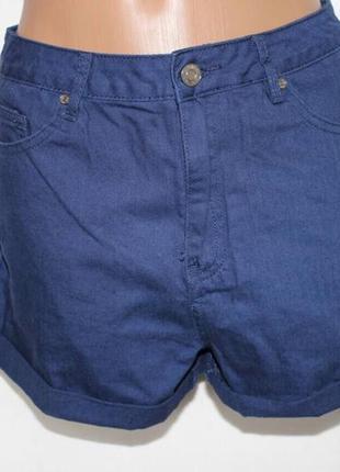 Темно-синии шорты3 фото