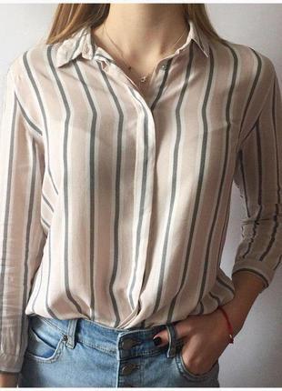 Стильная рубашка stradivarius