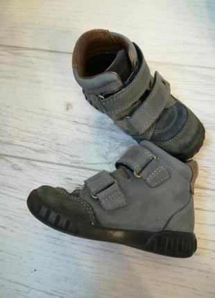 Ботинки ecco для мальчика,24 размер2