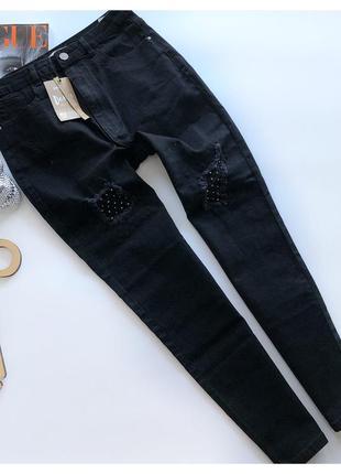 Новые джинсы mom на высокой талии cropp pp л