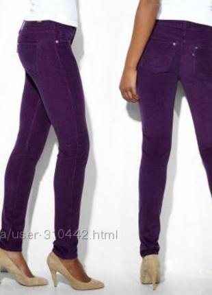 Вельветовые джинсы levis