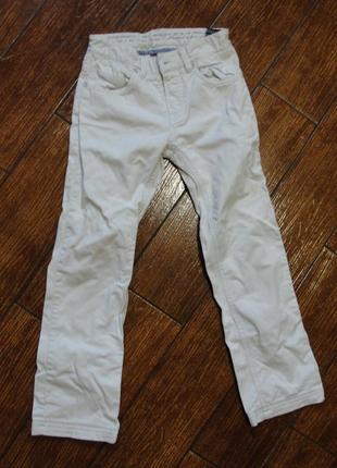 Котонові джинси брюки