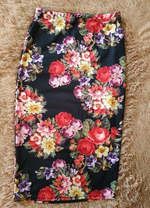 Цветочная юбка-карандаш от atmosphere