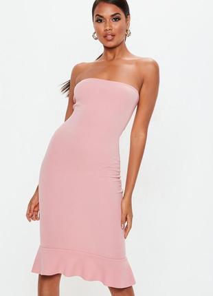 Стильное миди платье