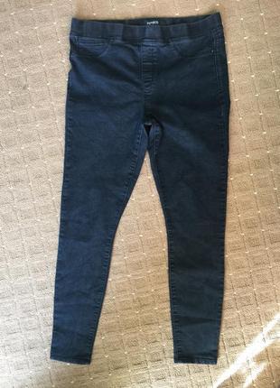 Брючки-джегинсы джинсовые46р
