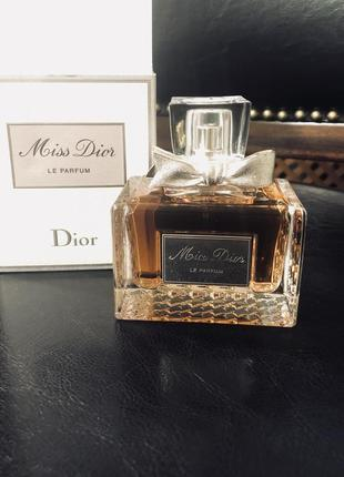 Оригинал 💥 парфумированая вода  miss dior 75ml💥