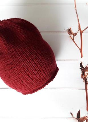 Hand made шапочка женская шапка