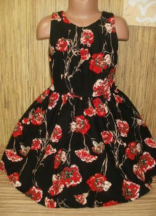 Стильное платье на 8 лет