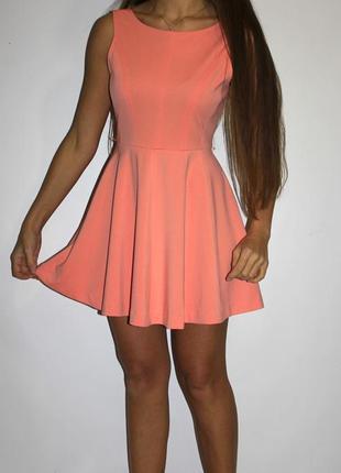 Красивое платье, красивая ткань ! - спинка открыта - см доп фото