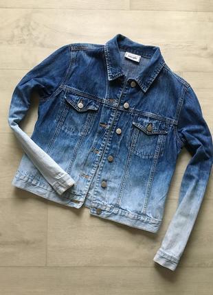 Джинсовая совый пиджак куртка джинсовка