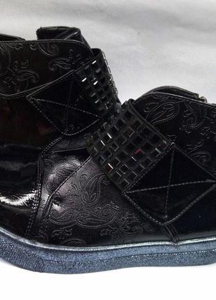 Новые демисезонные ботинки b&g для девочки, детская обувь