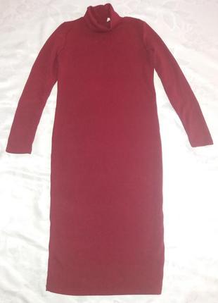 Платье-гольф миди