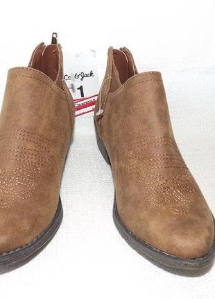 Ботинки полусапоги  cat 19,5 см,20 см,21 стелька