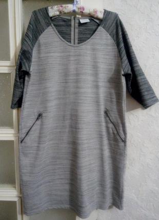 Трикотажное платье 18-20р