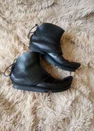 Стильные авангардные  коданые ботинки от trippen в стиле rick owens isaac sellam оригинал