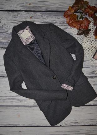 11 - 12 лет 152 см натуральный фирменный пиджак джемпер классика девочке зара zara3