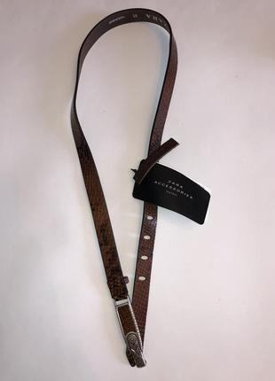 Ремень кожаный1 фото