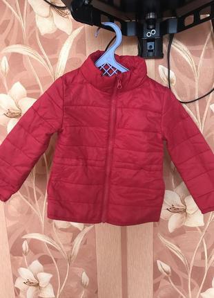 Куртка весенняя на девочку нм на 2-3 года