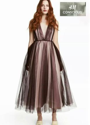 Платье h&m conscious.размер 38(м).