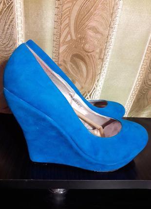 Распродажа туфли лодочки на платформе