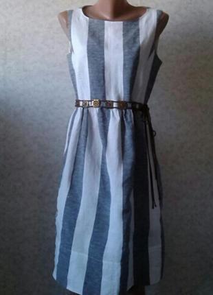 Льняное платье от  max mara