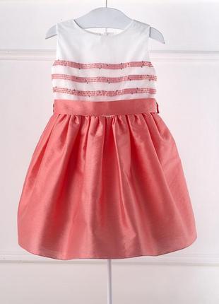 Нарядное платье chicco, р.104 - 4 года. новое премиум коллекция