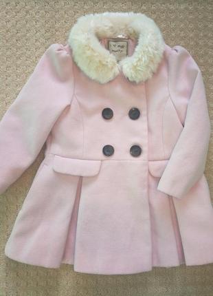 Стильное пальто next  2-3