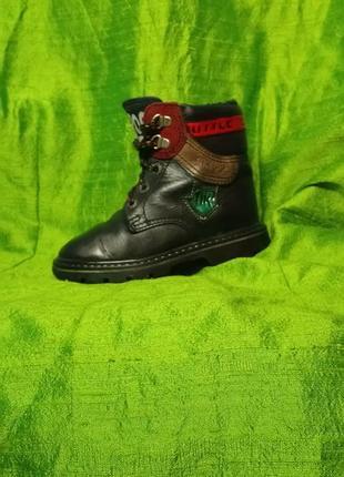 Кожаные стильные  демисизонные ботинки на малыша 👦🏻1