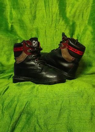 Кожаные стильные  демисизонные ботинки на малыша 👦🏻5