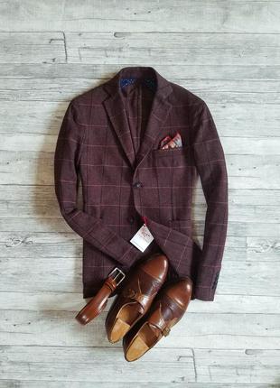 Мужской итальянский пиджак falko rosso