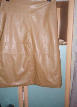 Классическая юбка из эко-кожи atmocphere