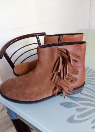 Весняні черевички next(yнатуральна шкіра,натуральна замша)+подарунок